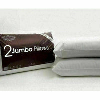 Pack Of 4 Ultra Soft Jumbo Pillows Luxury Hotel Quality Soft Comfartable Sleep
