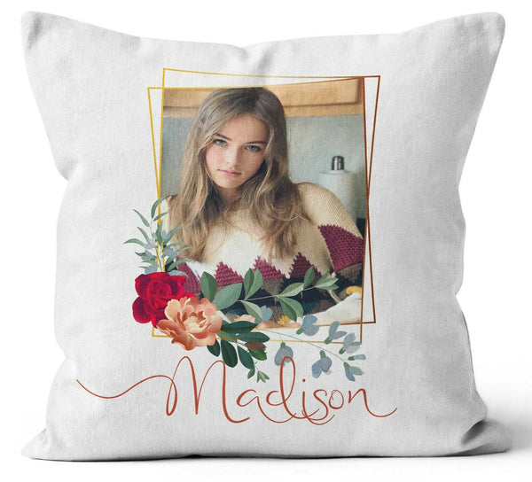 Personalised Any Image Text Cushion Cover Gift Mothers Day Wedding Idea 0