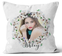 Personalised Any Image Text Cushion Cover Gift Mothers Day Wedding Idea 19