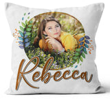 Personalised Any Image Text Cushion Cover Gift Mothers Day Wedding Idea 45