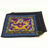 "square 18""x18"" China Dragon Embroidery Tapestry Canvas Cushion Cover/Pillow Case"