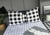 D55 Pillow Sofa Chair Office Home Case Cushion Cover Bedroom Bed Decor Canvas Q