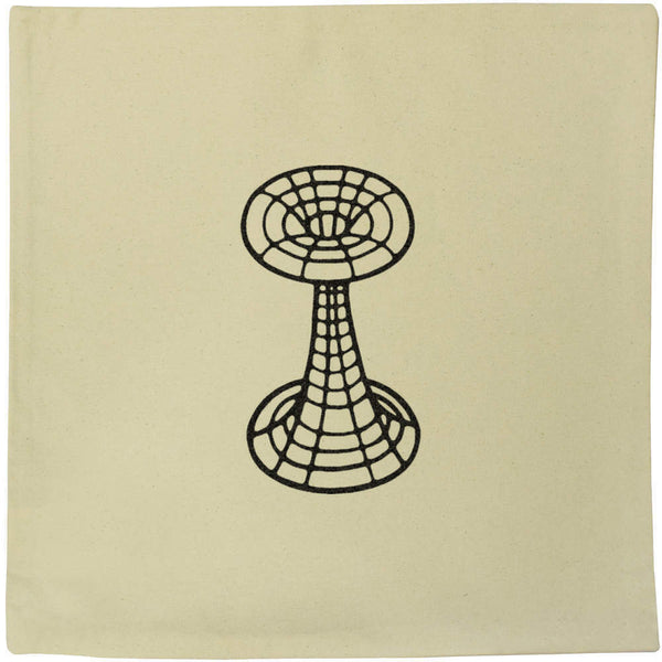 40cm x 40cm 'Wormhole' Canvas Cushion Cover (CV00010831)