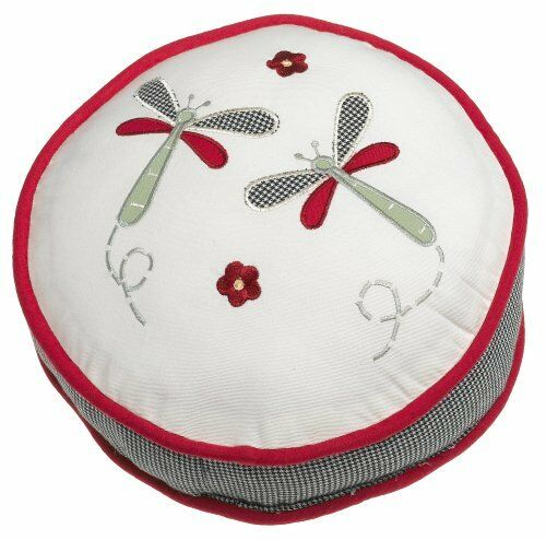 New Lambs & Ivy Secret Garden Decorative Crib Pillow