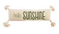 Sunshine Canvas Pillow