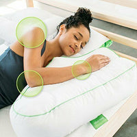 Sleep Yoga BP-SY02 Side Sleeper Arm Rest Pillow for Back, White Pillow