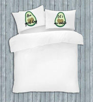 Beautiful Romantic Novelty Pillow Case Pair Love Couple Funny Quotes Message