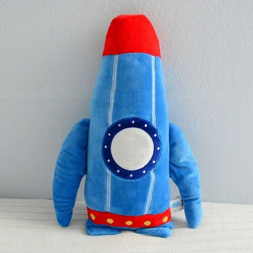 "16""/24"" Rocket Toy Throw Pillow Decorative Plush Cushion Stuffed Toys Gifts Kids"