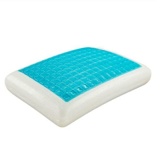 Gel Sheeet Memory Cotton Pillow Spring Back Improve Sleep Quality Hypoallergenic