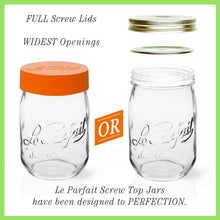 Load image into Gallery viewer, Le Parfait Screw Top Jars