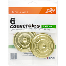 Load image into Gallery viewer, Familia Wiss - Screw Lids