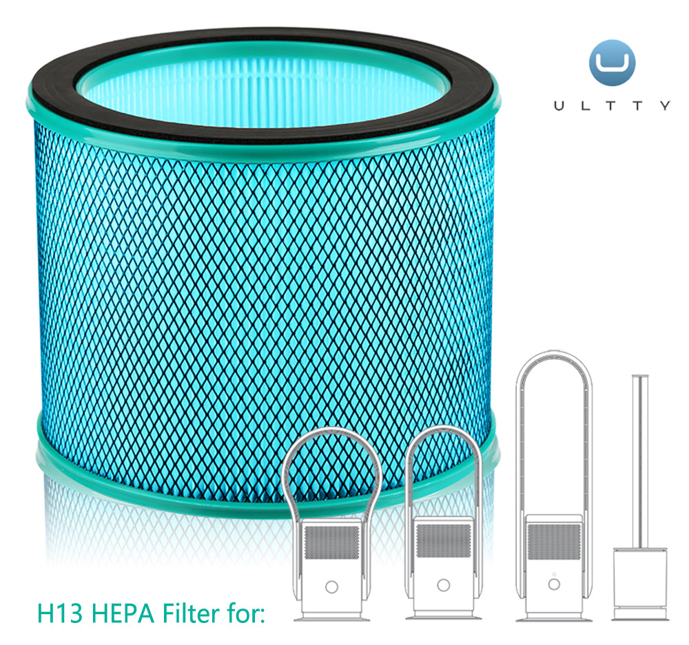 ULTTY H13 HEPA Replacement Filter for R21 Purifying Fan | Medical Coating