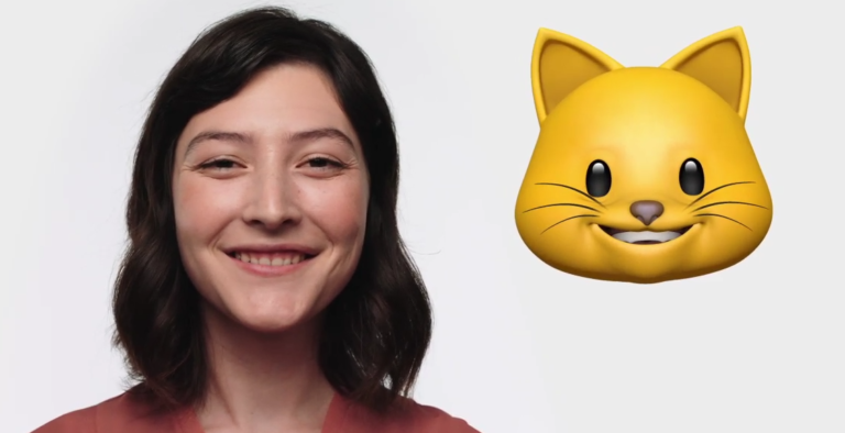 Animojis available on iPhone X