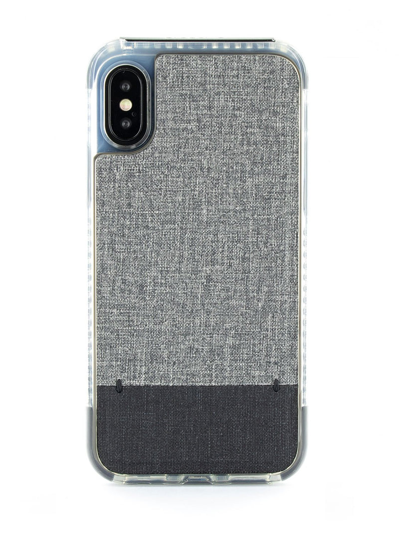 Hero image of the Proporta Apple iPhone XS / X phone case in Grey