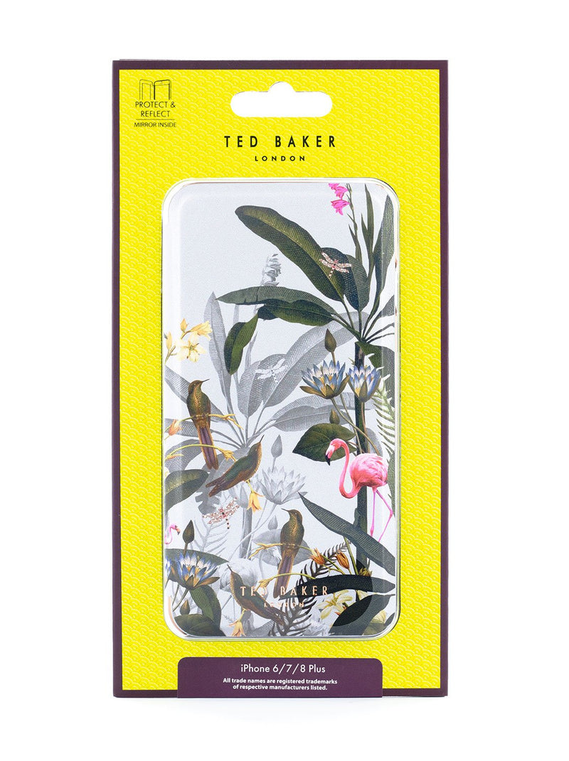 Packaging image of the Ted Baker Apple iPhone 8 Plus / 7 Plus phone case in Grey