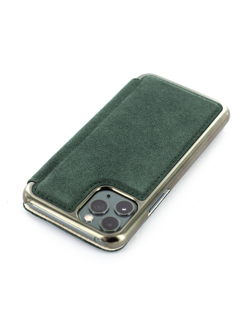 BLAKE Classic Alcantara Case for iPhone 11 Pro - Sage (Green)