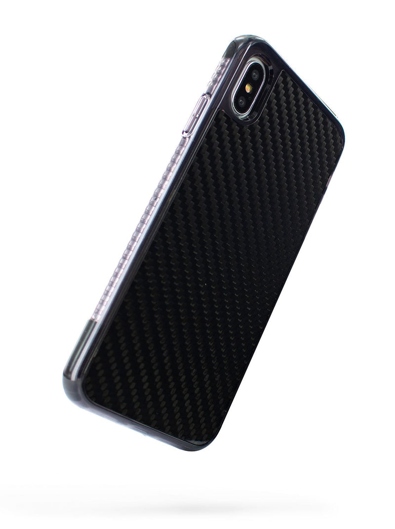 Back image of the Proporta Apple iPhone XS Max phone case in Black