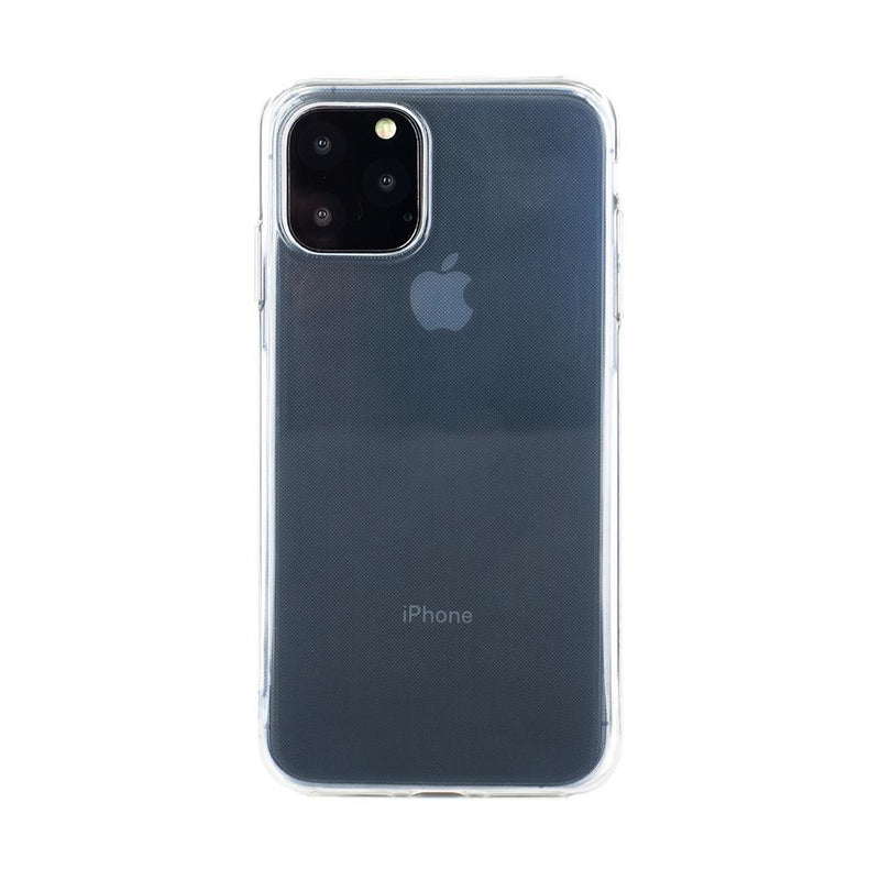 Back with device shot of the Proporta Apple iPhone 11 Pro back shell in Clear