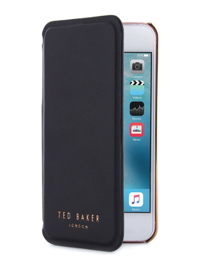 Folio Cover image of the Ted Baker Apple iPhone SE / 5 phone case in Black