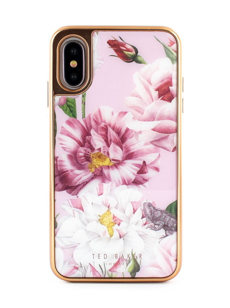 Hero image of the Ted Baker Apple iPhone XS / X phone case in Pink