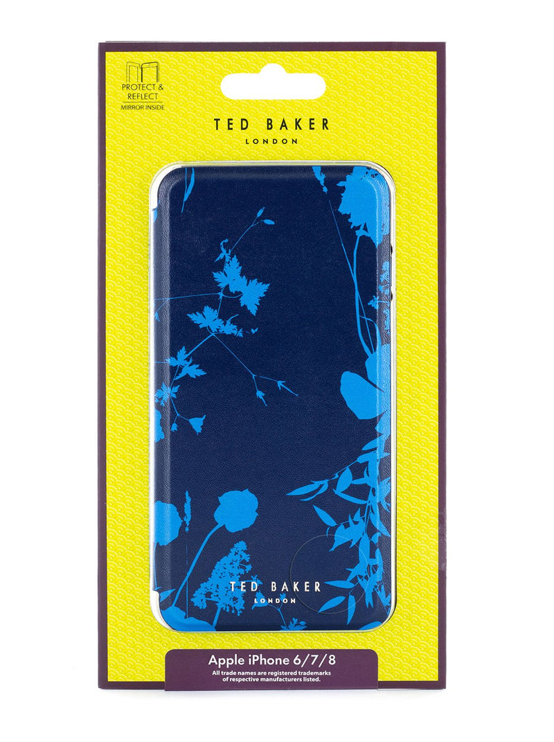 Packaging image of the Ted Baker Apple iPhone 8 / 7 / 6S phone case in Blue