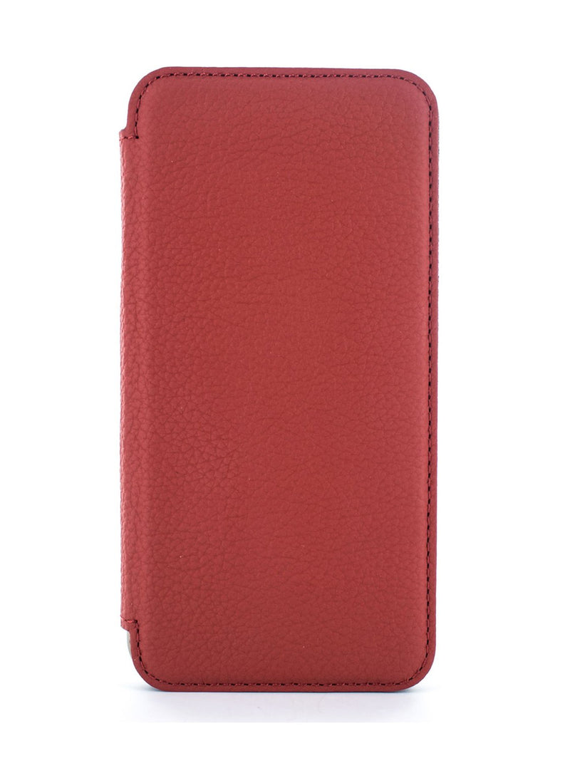 Hero image of the Greenwich Apple iPhone XS / X phone case in Scarlet Red
