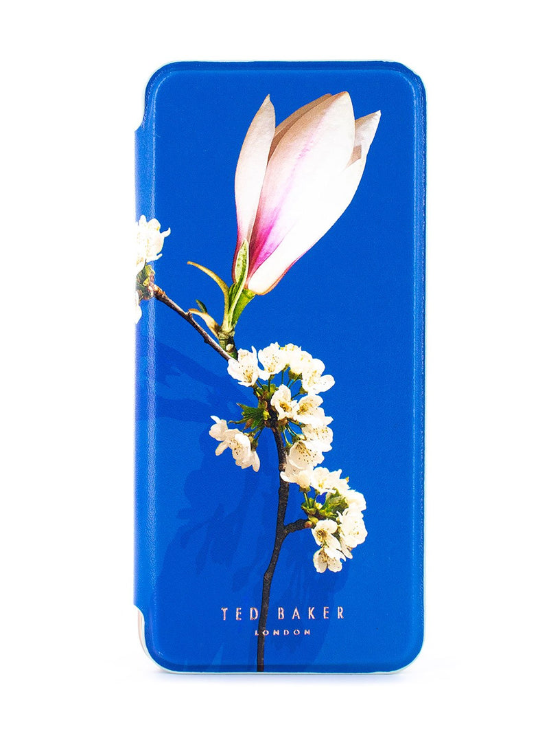 Hero image of the Ted Baker Samsung Galaxy S8 phone case in Blue