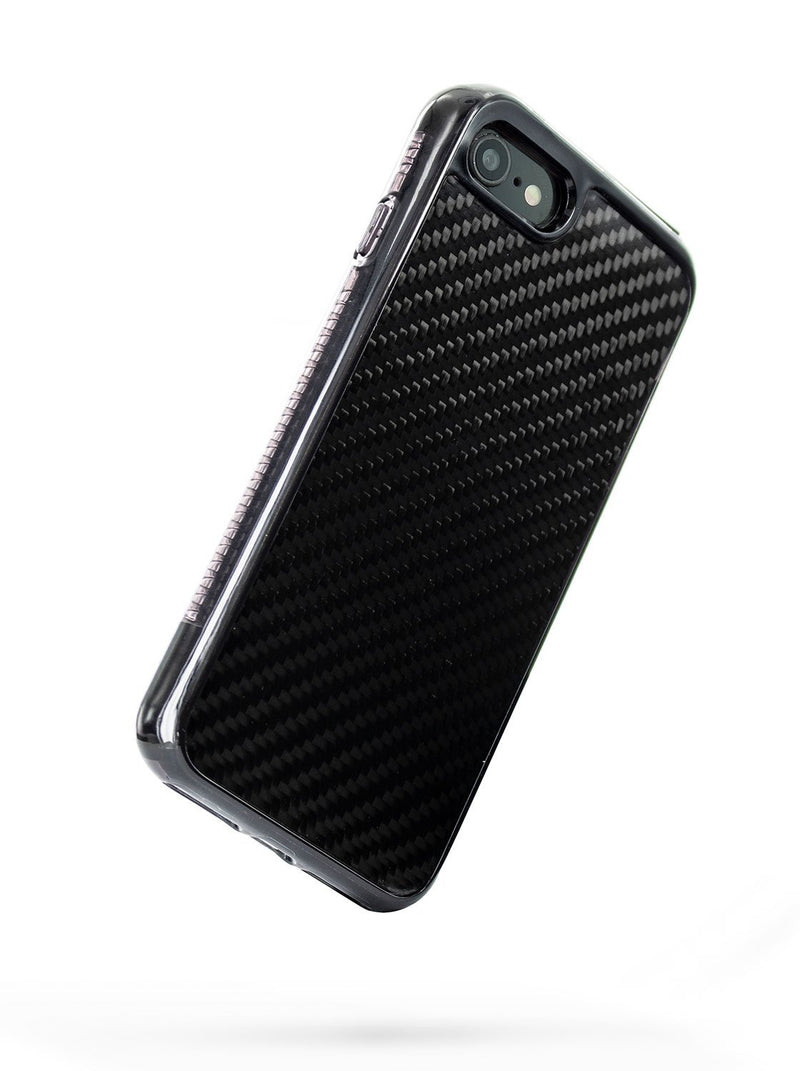Back image of the Proporta Apple iPhone 8 / 7 / 6S phone case in Black