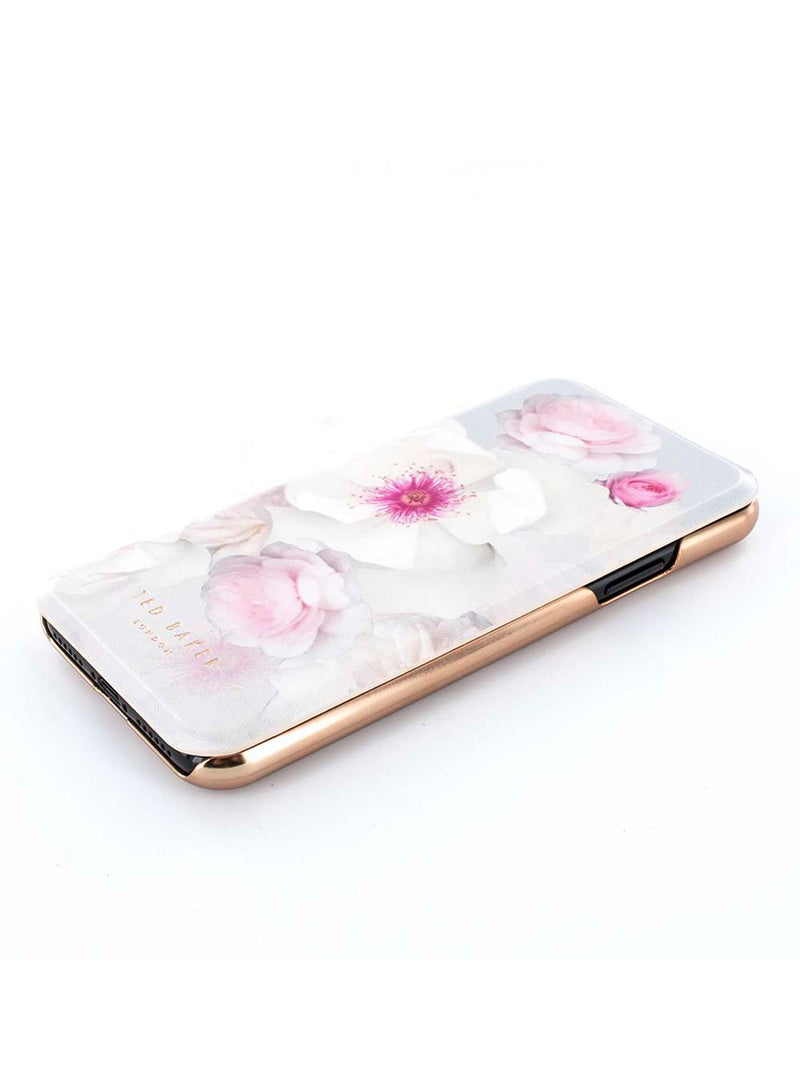 Face up image of the Ted Baker Apple iPhone XS / X phone case in Grey