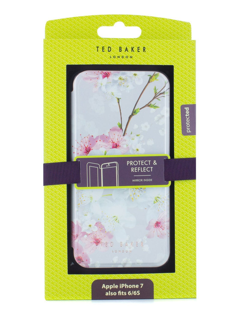 Packaged image of the Ted Baker Apple iPhone 8 / 7 / 6S phone case in White