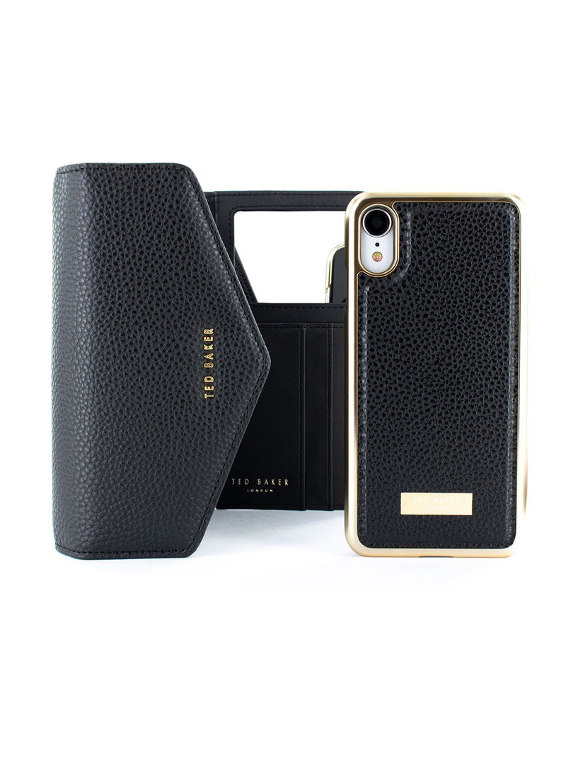 Bag with case image of the Ted Baker Apple iPhone XR phone case in Black