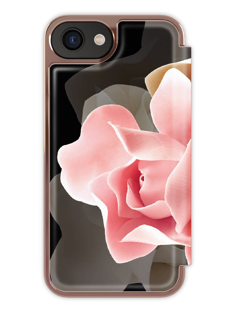 Ted Baker KNOWANE Folio Case for iPhone 6 / 6S - Porcelain Rose (Black)