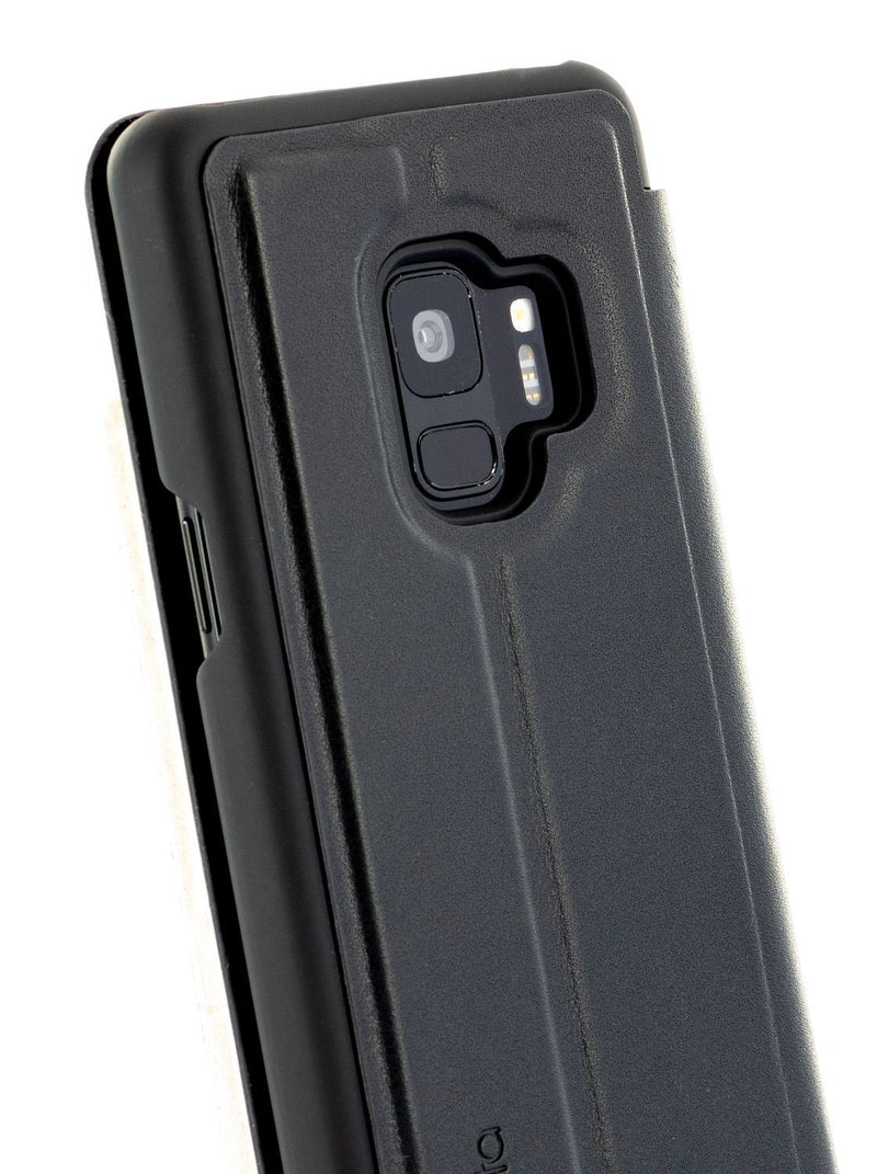 Detail image of the Proporta Samsung Galaxy S9 phone case in Black