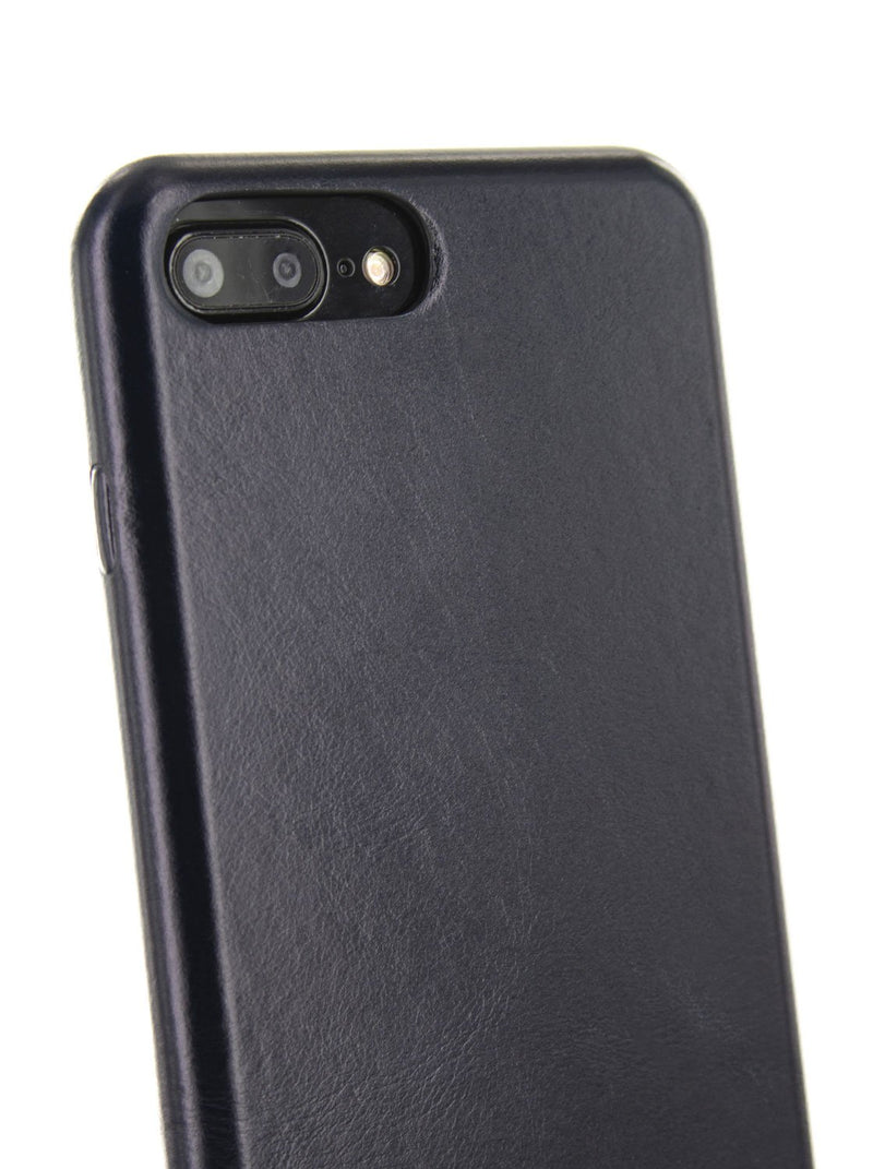 Ted Baker MIDICO Real Leather Case for iPhone 8 Plus / 7 Plus / 6 Plus - Navy