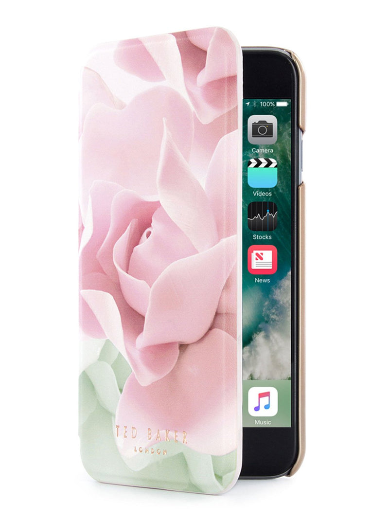 Folio cover image of the Ted Baker Apple iPhone 8 / 7 / 6S phone case in Nude