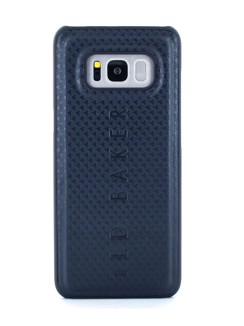 Hero image of the Ted Baker Samsung Galaxy S8 phone case in Navy Blue