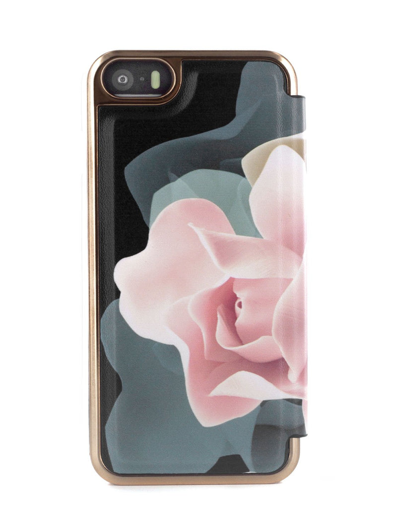 Back image of the Ted Baker Apple iPhone SE / 5 phone case in Black