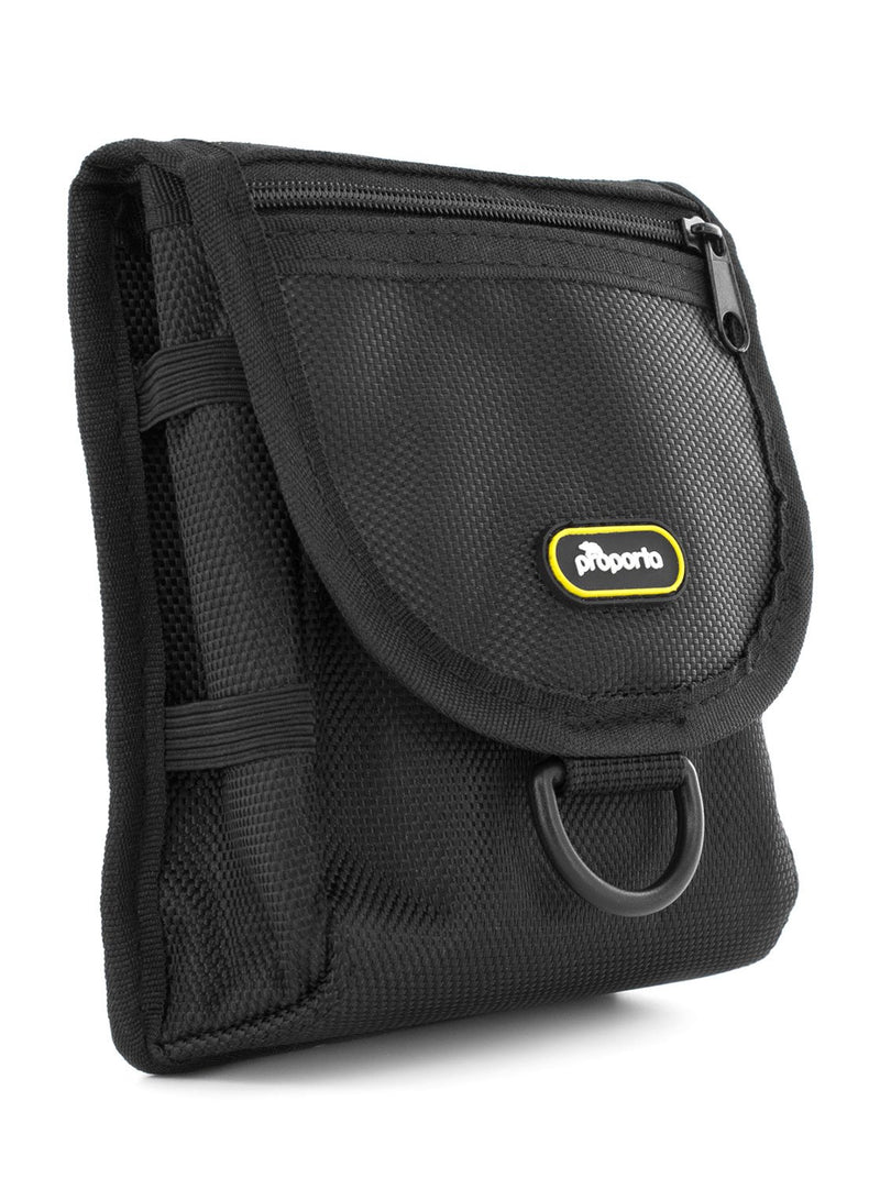 Front image of the Proporta Universal bag in Black