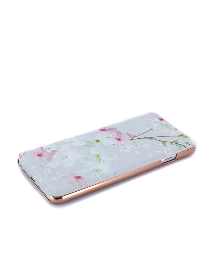 Face up image of the Ted Baker Apple iPhone 8 Plus / 7 Plus phone case in White