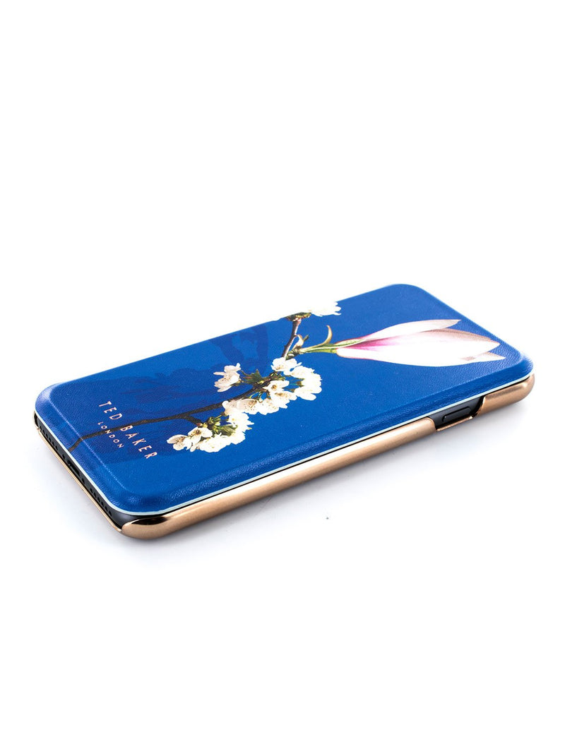 Face up image of the Ted Baker Apple iPhone 8 / 7 / 6S phone case in Blue