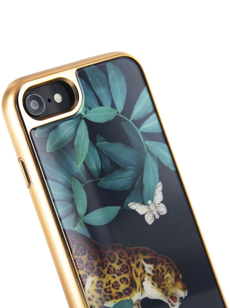 Detail image of the Ted Baker Apple iPhone 8 / 7 / 6S phone case in Houdini Navy