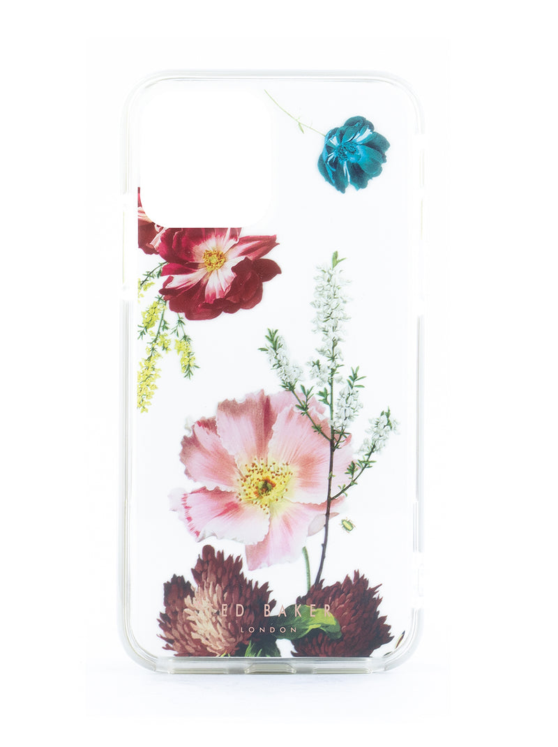 Ted Baker FOREST FRUITS Anti Shock Case for iPhone 11- Clear Back