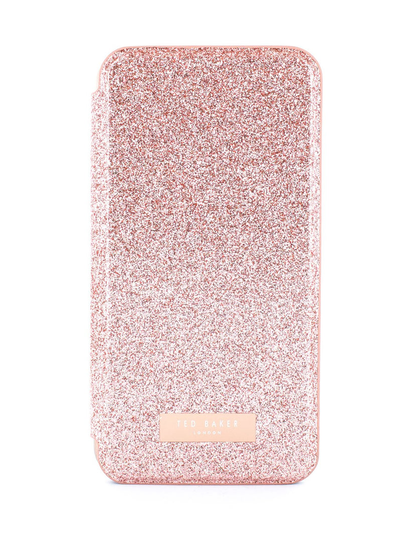 Hero image of the Ted Baker Apple iPhone XS / X phone case in Rose Gold