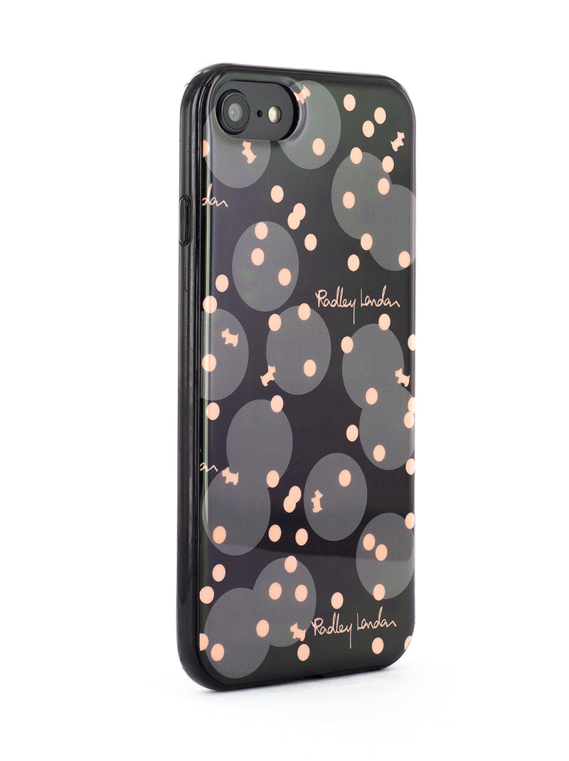 RADLEY Back Shell for iPhone SE (2020) / 8 / 7 / 6 - Charcoal / Polka Dot