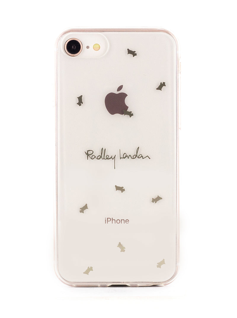 RADLEY Back Shell for iPhone SE (2020) / 8 / 7 / 6 - Clear / Amber