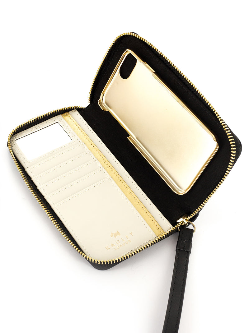 RADLEY Purse Case for iPhone SE (2020) / 8 / 7 / 6 - Black / Cream