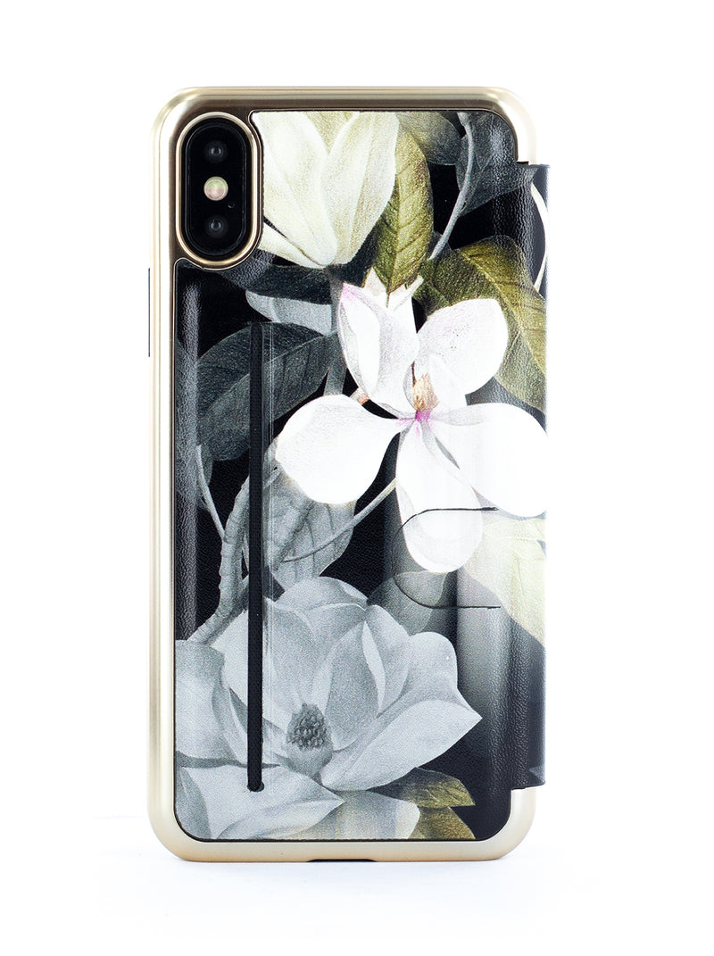 Ted Baker Book Case for iPhone X / XS - AGATHAA / OPAL
