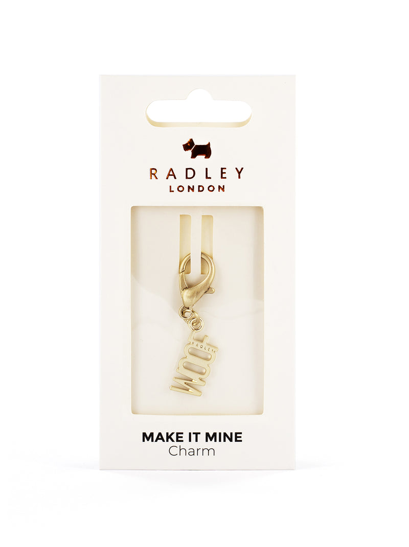 RADLEY Bag Charm - Pale Gold / Woof