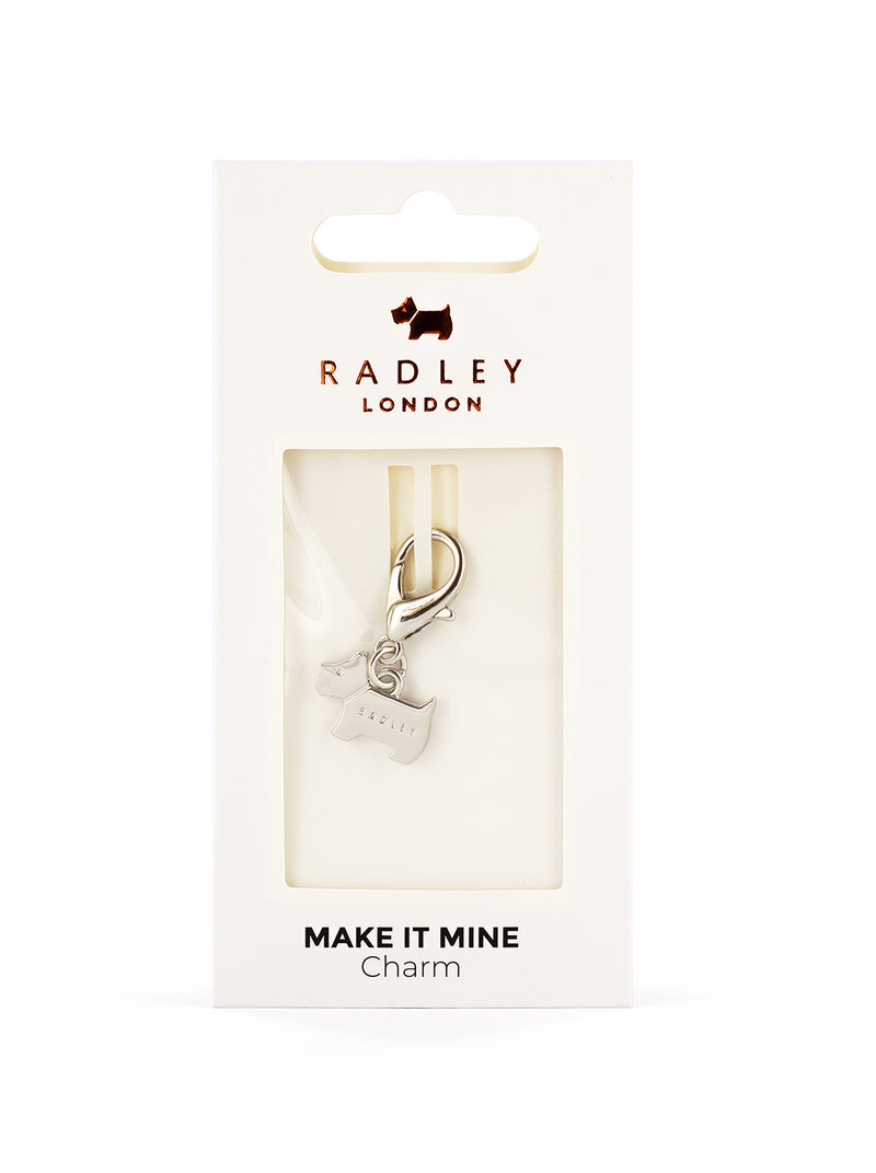 RADLEY Bag Charm - SILVER / DOG