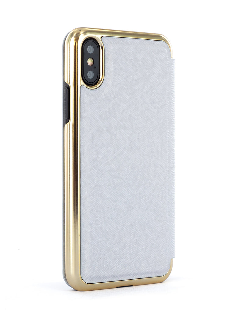 Ted Baker Mirror Case for iPhone X/XS - GGEORGI (Grey)
